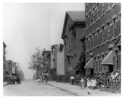 Street view in Williamsburg - Brooklyn, NY  1918