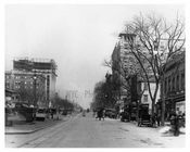 Street view of 109th Street & Broadway - Upper West Side - New York, NY 1910