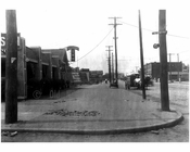 Surf Ave & 25th Street 1914
