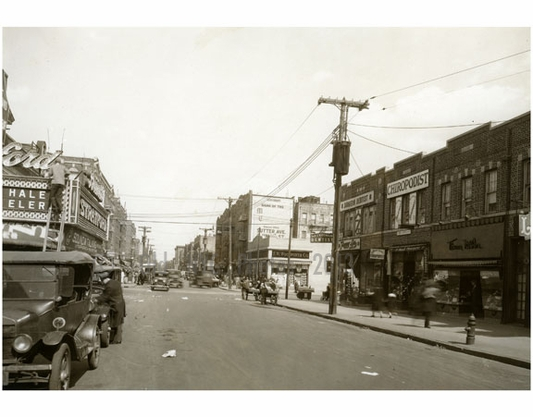 Sutter Ave, east of 98th Street April 1929