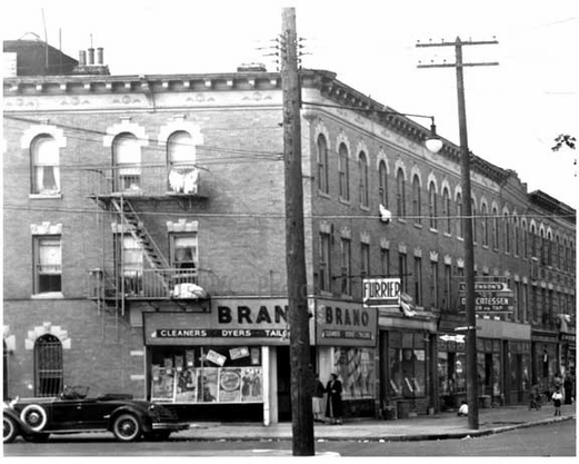 Sutter Ave west of Linwood Street East New York 1940s