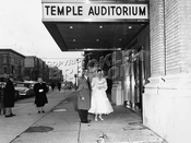 Temple Auditorium Catering Hall, 251 Rochester Avenue, c.1948