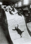 The Big Slide at Steeplechase Park (apparently staged photo) ca 1930