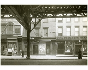 The Bowery - between Broome Street & Grand 1915