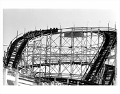 The Cyclone - Astroland Park - Coney Island 1970s