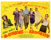 The McGuerins from Brooklyn - cast shot - Vintage Posters