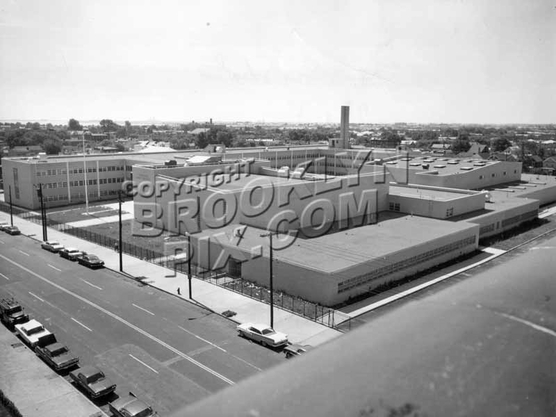 The newly-completed Canarsie High School, Rockaway Parkway and Avenue K, 1964