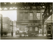 """The Owl Hotel"" Bowery - east side - at Grand Street 1916"