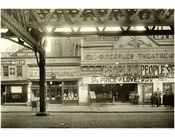"""The People Theater"" between Rivington & Delancey 1916"