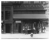 The Slevin Cafe on 22nd Street & 7th Avenue - Chelsea - Manhattan  1914