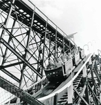 The Thunderbolt in action, dormant for many years, now demolished