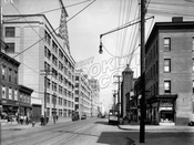 Third Avenue looking northeast to 36th Street, 1921