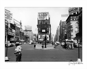 Times Sqaure Manhattan NYC 1948