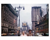Times Square 1952 NYC