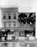 Tony's Hotel and Frank Gemino's Tailor Shop, 2912-14 West 15th Street, 1925