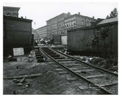 Train tracks Bushwick Ave - Williamsburg - Brooklyn , NY  1923