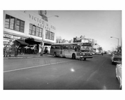 Triboro Coach  at Victor Moore Arcade - Broadway 1964 - East Elmhurst -  Queens NY