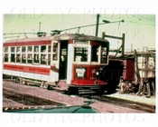 Trolley 1671 on Woodside