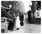 Up close view of East 14th Street East Village Manhattan, NY  1918