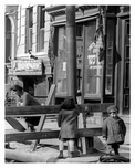 Up close view of kids playing on Lorimer Street - Williamsburg - Brooklyn, NY  1918
