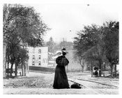 Upclose shot of Mother and child on 179th Street & Boston Road -  Bronx, NY 1903