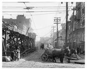 Upclose view of Metropolitan Ave - Williamsburg - Brooklyn, NY  1918