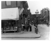 Upclose view of the corner of  Waverly Place & Perry Street - Greenwich Village - Manhattan  1914