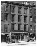 Upclose view of the shops at ( 232 -) 7th Ave between 23rd & 24th  Streets - Chelsea  NY 1914
