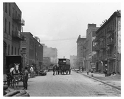 Upclose view of West 30th Street  - Midtown Manhattan - 1915
