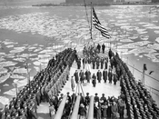 USS New Orleans Commission Ceremonies, 1934