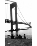 Verrazano Bridge under construction