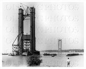Verrazano Narrows Bridge construction 1962