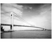 Verrazano Narrows Bridge - looking north toward Brooklyn