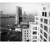 view looking north east at the Brooklyn Tower from rooftop of Watchtower Building in Brooklyn