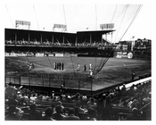 View of Ebbets Field  1950 - Flatbush - Brooklyn NY