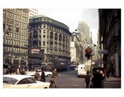 West 32nd Street with 'Gimbels' in the background