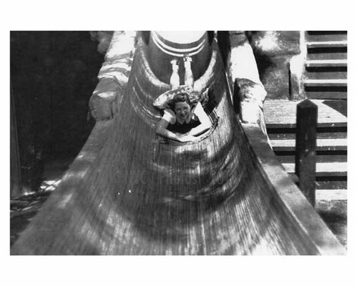 Water slide at the World Fair 1939 Flushing  - Queens NYC