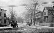 Webster Avenue looking west from Coney Island Avenue, 1906