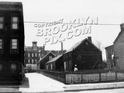 Weeksville houses along Hunterfly Road south of Bergen Street, 1922