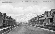West 10th Street south from Kings Highway, 1912