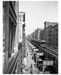 West Broadway - view from Spring St. 1909