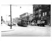 West End Trolley Line at Bath Ave