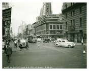 West on 42nd Street West facing Broadway Times Square 1937 - NYC