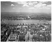 West Side Piers - West 30 - 46th Streets 1945