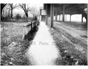 West sidewalk of Gravesend Ave, looking north from Ave S -  1922