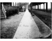 West sidewalk of Gravesend Ave looking north from Avenue T -  1922