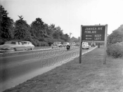 Westbound on the Interborough (now Jackie Robinson) Parkway, c.1950