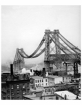 Williamsburg Bridge Construction 1