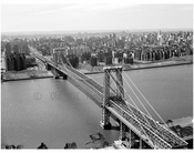 Williamsburg Bridge - view from Manhattan with Brooklyn in the background