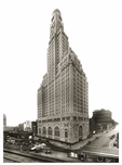 Williamsburg Savings Bank tower at time of completion 1929 - 1 Hanson Place